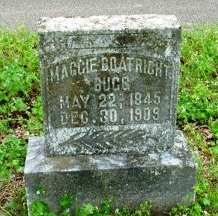 Margaret Flynn Boatright Bugg Gravestone