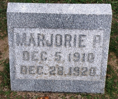 Marjorie P. Boatright Gravestone