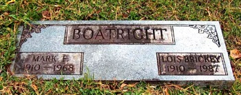 Mark Franklin Boatright Marker