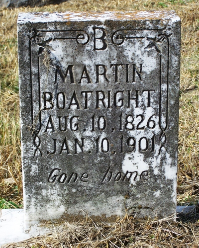 Martin Boatright Gravestone