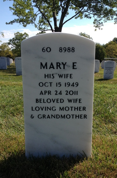 Mary E. Botwright Gravestone: