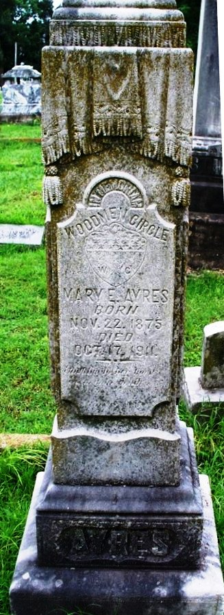 Mary Evelyn Boatright Gravestone