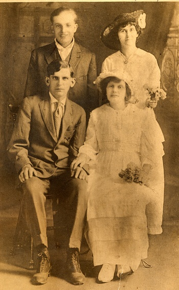 Marriage photo for Mary Jane Behymer