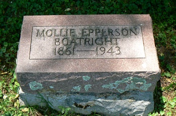 Mollie Epperson Boatright Marker
