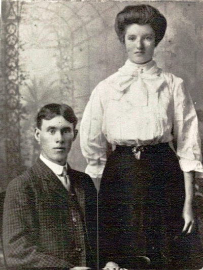 Monroe Earl Boatright and Sallie Sue Story