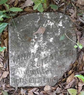 Nancy Elizabeth Boatwright Gravestone