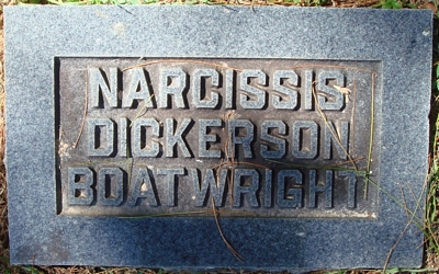 Narcissa E. Dickerson Boatwright Gravestone