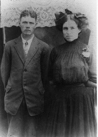 Nellie Ann Boatright and William Luther Loveless