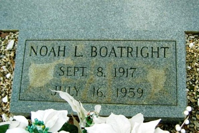 Noah Lee Boatright Gravestone