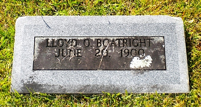 Oscar Lloyd Boatright Gravestone