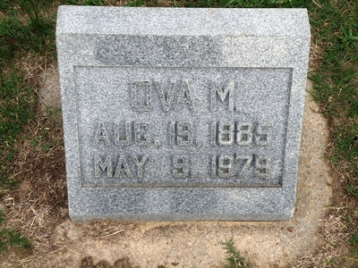 Ova Grigg Boatright Gravestone