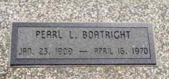 Pearl Roland Boatright Marker