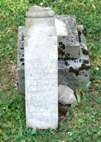 R. Floyd Boatright Gravestone