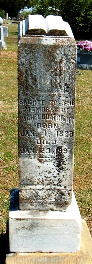 Rachel Lawler Boatright Gravestone