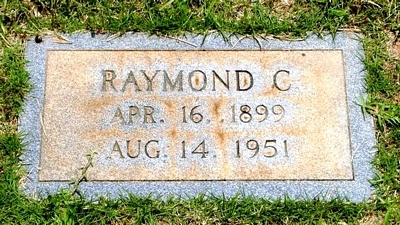Raymond Calloway Boatright Gravestone