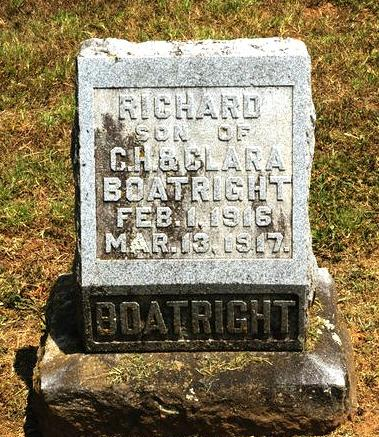 Richard Boatright Gravestone