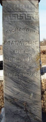Richard J. Boatwright Gravestone: