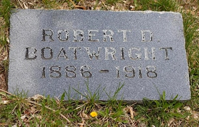 Robert Daniel Boatwright Gravestone