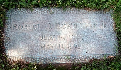 Robert Guy Boatright Jr. Gravestone