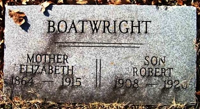 Robert L. Boatwright Gravestone