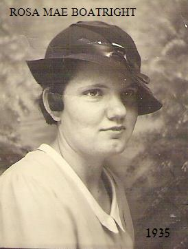 Rose Mae Boatright 1935