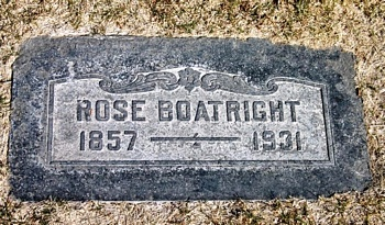 Rose Cassidy Boatright Marker