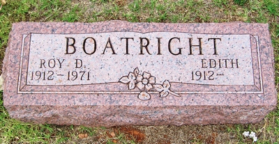 Roy Donald Boatright Gravestone