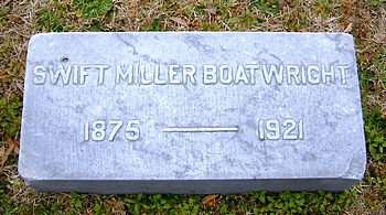 Swift Miller Boatwright Marker