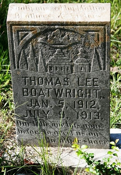 Thomas Lee Boatwright Gravestone