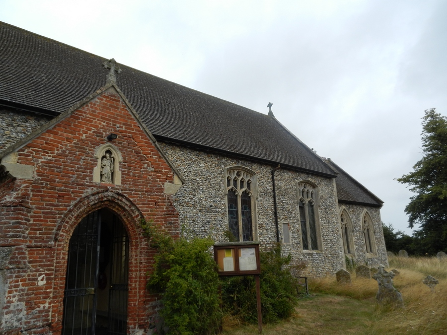 All Saints Church, Thorpe Abbotts, Norfolk, England