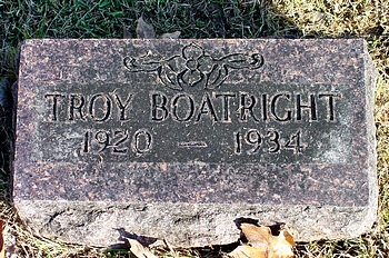Troy Walters Boatright Marker