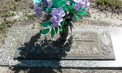 Walter Eugene and Mary Maude Thigpen Boatright Gravestone