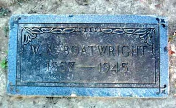 William A. Boatwright Marker