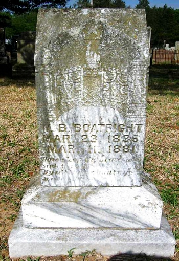 William B. Boatright Gravestone