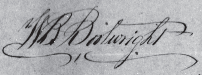 William Bryan Bootwright Signature