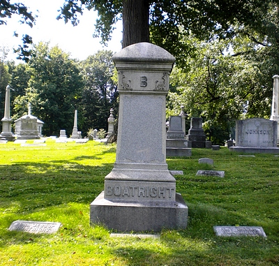 William Burton Boatright Gravestone