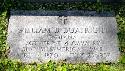 William Burton Boatright Marker