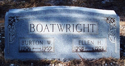 William Burton Boatwright Gravestone