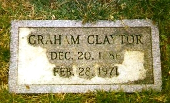 William Graham Claytor Marker