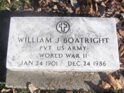William James Boatright Marker