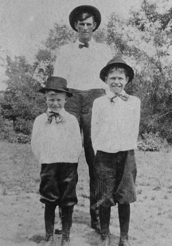 William Joseph Vinson and two sons