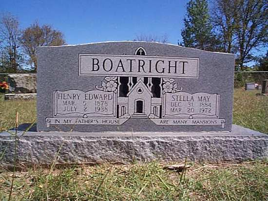 Henry Edward Boatwright Marker