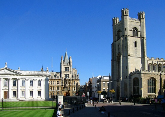 St. Mary the Great Cathedral, Cambridge, England